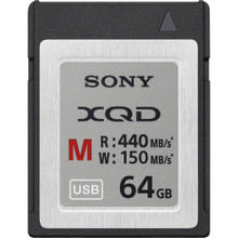 Sony 64GB M Series XQD Memory Card, New York, California, Maryland, Connecticut