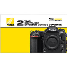 Nikon 2-Year Extended Service Coverage for D500 DSLR Camera, New York, California, Maryland, Connecticut