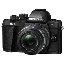 Olympus OM-D E-M10 Mark II Mirrorless Micro Four Thirds Digital Camera with 14-42mm II R Lens, New York, California, Maryland, Connecticut