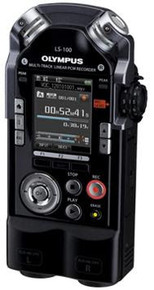 Olympus LS-100 4GB Digital music recorder XLR inputs