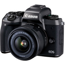 Canon EOS M5 Mirrorless Digital Camera with 15-45mm Lens (CAN1279C011AA), New York, California, Maryland, Connecticut