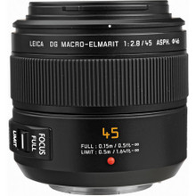 Panasonic Leica DG Macro-Elmarit 45mm f/2.8 ASPH. MEGA O.I.S. Lens (PANH-ES045), New York, California, Maryland, Connecticut