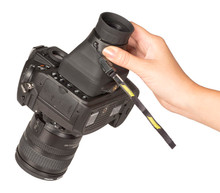 """Compact Hoodloupe 3.2"""" Glare Free LCD Loupe (HODCH32), New York to California, Maryland and Connecticut"""