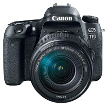 Canon EOS 77D DSLR Camera Kit, with EF-S 18-135mm F3.5-5.6 IS STM Lens