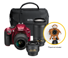 Nikon D3400 Triple Lens Parent's Camera Kit