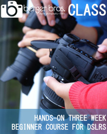 10/16/17 - Hands on Beginner for DSLRs 3 WK Course