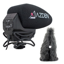 Azden SMX-30 Microphone with Furry Windshield Kit