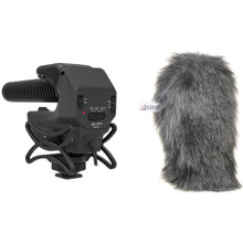 Azden SMX-15 Microphone with Furry Windshield Bundle