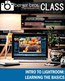 10/10/18 - Intro to Lightroom: Learning The Basics