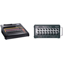 Roland M200i 32-Channel Digital Mixer with S-1608 Digital Snake Kit