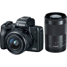 Canon EOS M50 WITH 15-45MM AND 55-200MM