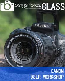 07/07/18 - CANON BASICS DSLR WORKSHOP