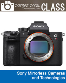 09/27/18 - Sony Mirrorless Cameras and Technologies