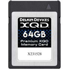 Delkin Devices 64GB Premium XQD Memory Card