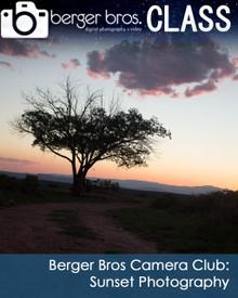 09/25/18 - Berger Bros Camera Club: Sunset Photography