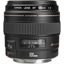 Canon 100mm f/2.0 EF Usm Lens