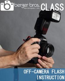 02/26/18 - Off-Camera Flash Instruction