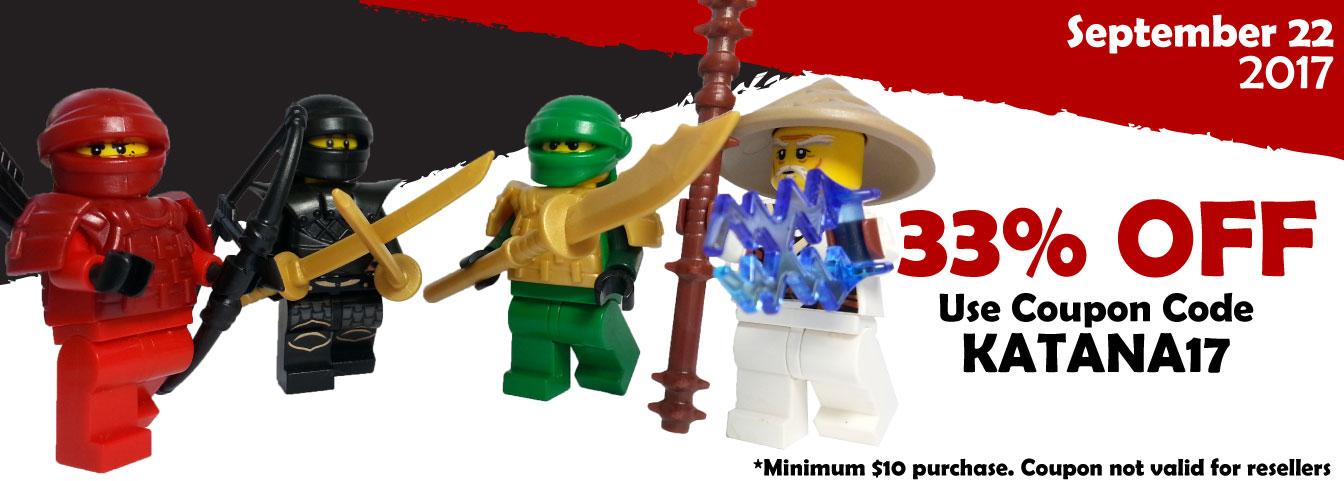 Custom LEGO Accessory Sale