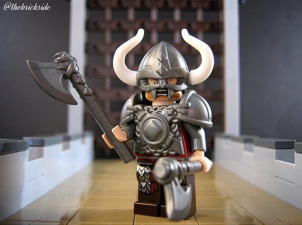 Custom Lego Minifigure Of The Week Nordic Terror By