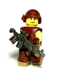 Modern Military Custom Lego Guns
