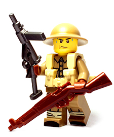 British WW2 Custom Lego Guns