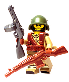 Soviet WW2 Custom Lego Guns