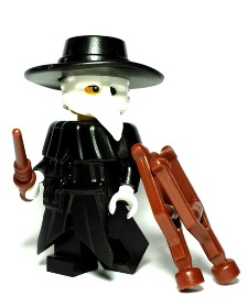 Plague Doctor Custom Lego Weapons