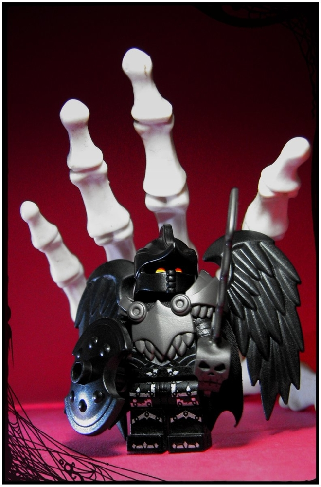 Custom LEGO Minifigure of the Week - Death Knight by KlyphRa