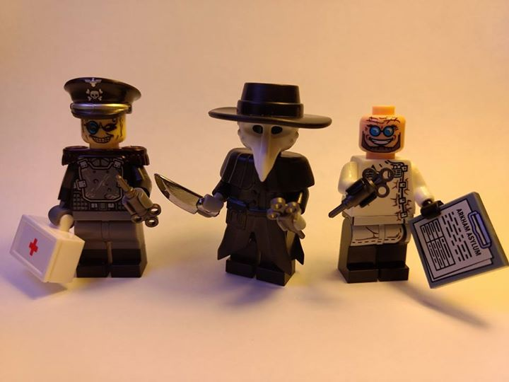 Custom LEGO Minifigure of the Week - The Doctors Are In by David Dayhoff