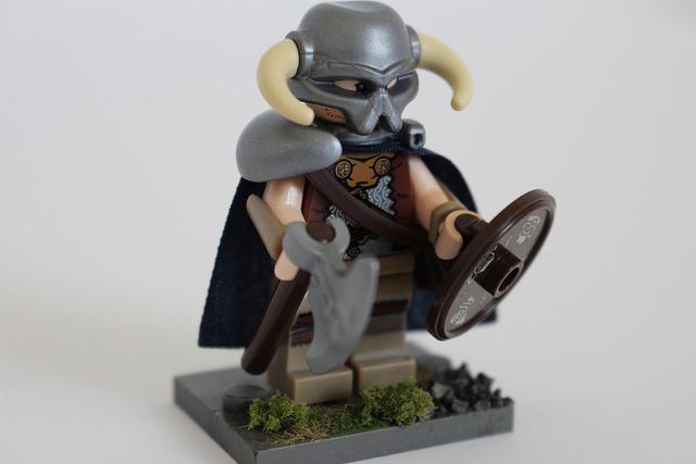 Custom Lego Minifigure Of The Week Dovahkiin By Joey G