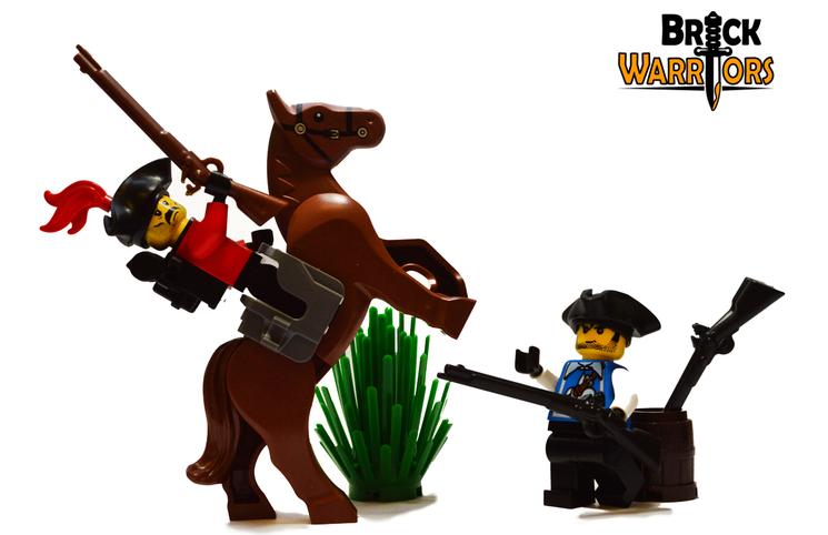 Custom LEGO Gun Highlight - Flintlock Musket