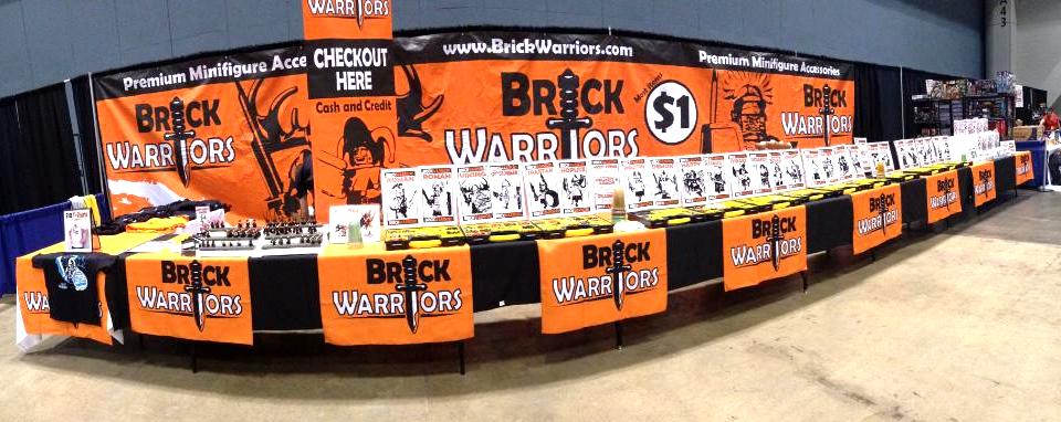 BrickWarriors at Convention