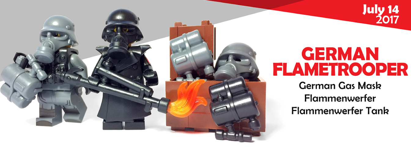 New WWII German Flametrooper Accessories Now Available!