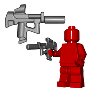 Minifigure Gun - Special Forces SMG