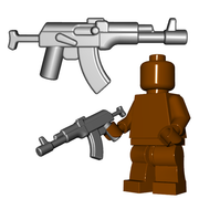 Minifigure Gun - Russian Assault Rifle