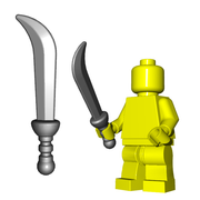 Minifigure Weapon - Dervish Blade