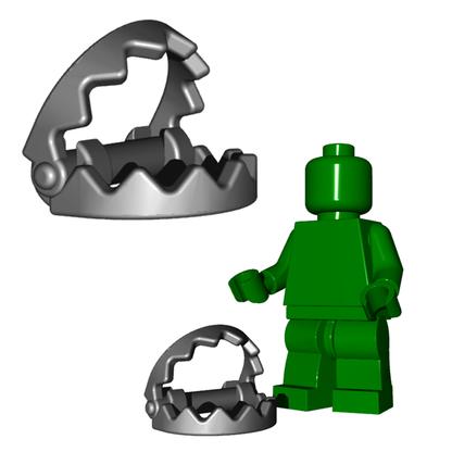Minifigure Trap - Bear Trap
