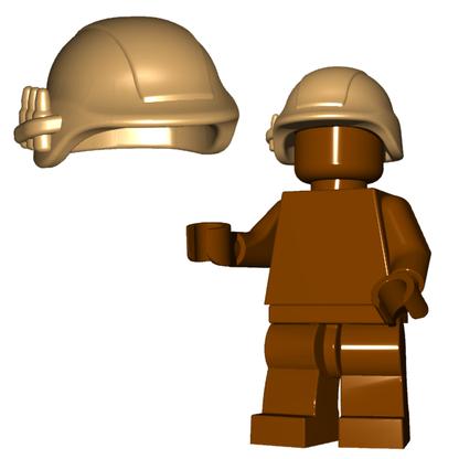 Minifigure Helmet - Military Helmet Horned Viking Helmet Goblin Rocket Helmet