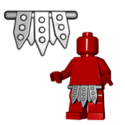 Minifigure Armor - Gladiator Skirt