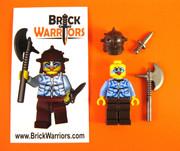 Custom Printed LEGO® Minifigure - Berserker