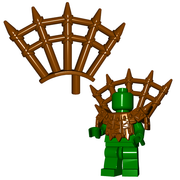 Minifigure Accessory - Wooden Spikes