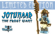 Custom LEGO® Minifigure - Jotunaar the Frost Giant