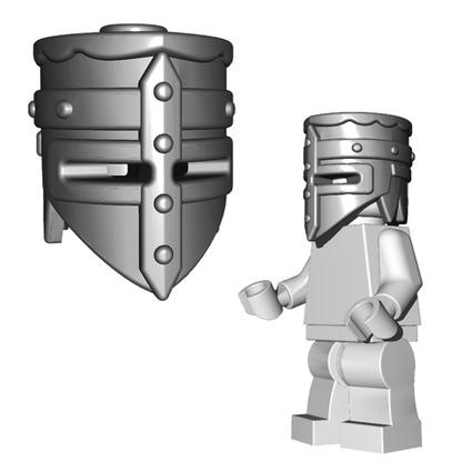Minifigure Helmet - Crusader Helm Horned Viking Helmet Goblin Rocket Helmet