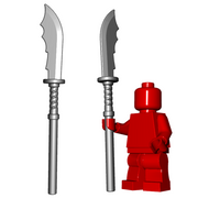 Minifigure Weapon - Naginata