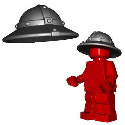 Minifigure Helmet - Kettle Helm Horned Viking Helmet Goblin Rocket Helmet