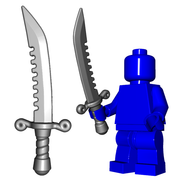 Minifigure Weapon - Breaker Sword