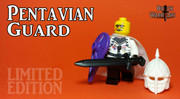 Custom LEGO® Minifigure - Pentavian Guard