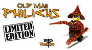 Custom LEGO® Minifigure - Old Man Philicus