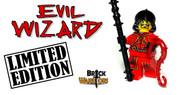 Custom LEGO® Minifigure - Evil Wizard