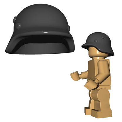 Minifigure Helmet - Stahlhelm